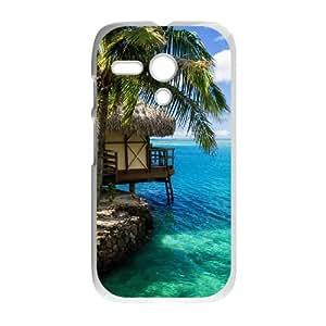 Palm Tree Motorola G Cell Phone Case White T9999493