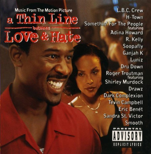 A Thin Line Between Love & Hate: Music From The Motion Picture Soundtrack, Explicit Lyrics Edition (2013) Audio CD