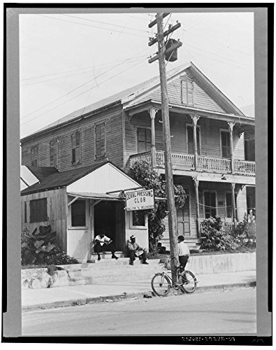 1938 Photo Duval Street, Key West, Florida Location: Florida, Key - Key Street Of West Duval Map