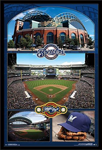 Trends International Milwaukee Brewers - Miller Park Wall Poster ()
