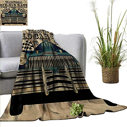 WinfreyDecor Throw Blanket Hotel Quality Cars All Season for sale  Delivered anywhere in Canada