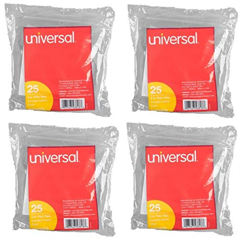 Universal Insertable Hanging Folder Tabs and Inserts, 2
