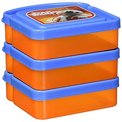 Disney Star Wars The Force Awakens Sandwich Container (3 Pack): Toys & Games