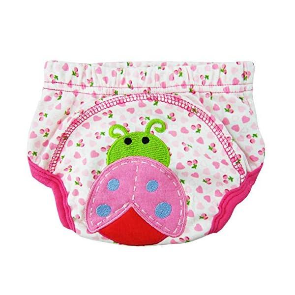 CuteOn 7 pacchetto di Formazione del Bambino del Bambino dei Ragazzi delle Ragazze di Cotone Potty Pantaloni… 6