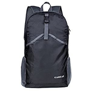 GARMAR Packable Backpack/ Ultra Durable Lightweight Travel Hiking Daypack/ Foldable Outdoor Travel Camping Biking Backpacking for Man and Women/ Ultralight and Handy