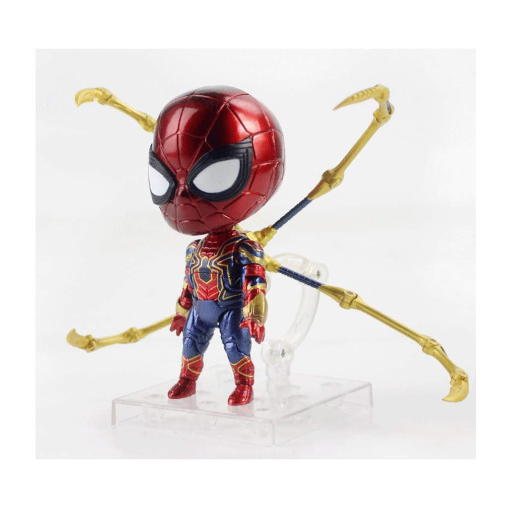 Spider Hero Nendoroid Action Figure About 4 Inches