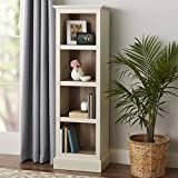 Better Homes and Gardens Dover 4 Shelf Bookcase (Ivory)