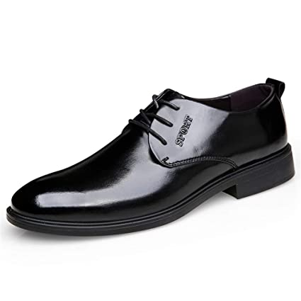 1592bd9520fbb7 Hilotu Clearance - Zapatos de Hombre clásicos de Piel de Prince Oxfords  Suela Suave Comodidad Formal. Pasa el ratón por encima de la imagen para  ampliarla