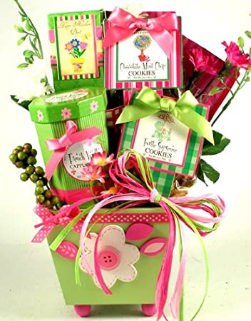 for the lovely lady womens gift basket for her womens christmas gift or birthday gift
