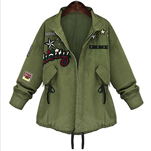 Embroidered Anorak Jacket - 8