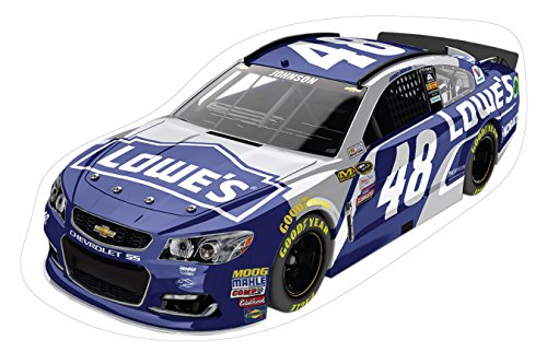 NASCAR #48 Jimmie Johnson Large Car Decal-NASCAR Peel & Stick Car Wall Decal-NEW for ()