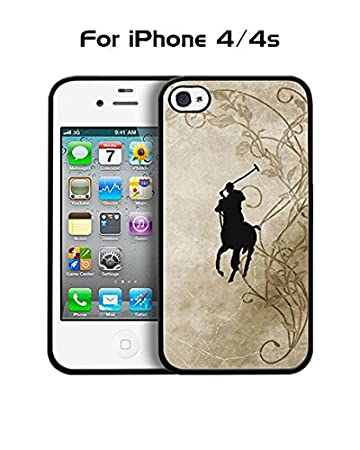 Anti Scratch POLO Polo Ralph Lauren Brand Logo Iphone 4 Funda Case ...