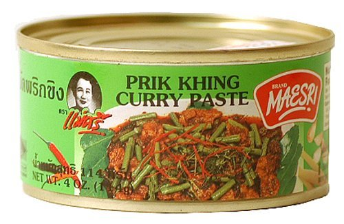 Maesri Prik Khing Curry Paste (Pack of 4)