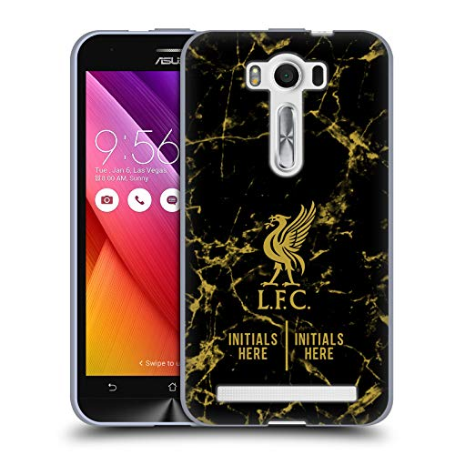 Custom Customized Personalized Liverpool Football Club Black Marble 2018/19 Soft Gel Case for Zenfone 2 Laser ZE500