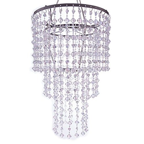 Event Decor Direct Crystal Gemstone Beaded Chandelier