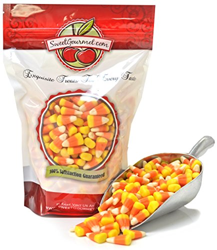 SweetGourmet Halloween Mellowcreme Candy Corn, 1lb ()