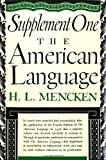 American Language, H. L. Mencken, 0394400763
