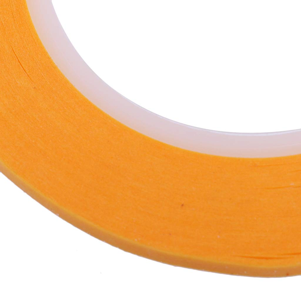 Sharplace 2 Unids Cinta Adhesiva 2mm para Pintura de Modelo DIY Craft