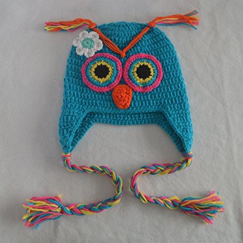 Generic Baby Girls Winter Crochet Owl Hats 5wefj1006928 1399