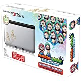 Nintendo Silver 3DS XL with Mario & Luigi : Dream Team - Nintendo 3DS