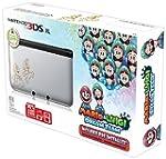 Nintendo Silver 3DS XL with Mario & L...
