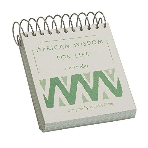 (Ten Thousand Villages Inspirational Spiral-Bound Calendar 'African Proverbs Calendar')