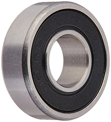 Ten (10) R6-2RS Sealed Bearings 3/8 x 7/8 x 9/32 Ball Bearings/Pre-Lubricated (Pack of 10)