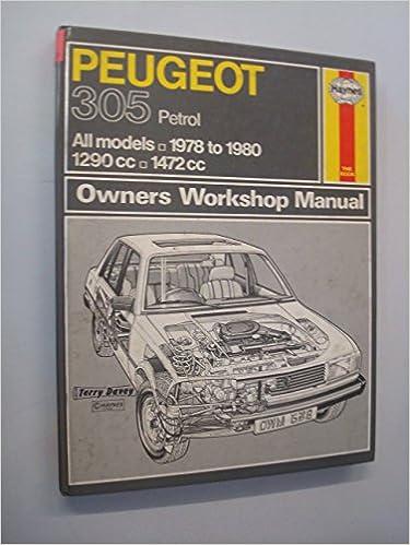 Paper peugeot 305 car service & repair manuals | ebay.