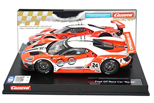 Carrera 23841 Ford GT Race Car #24 Digital 124 Slot Car Racing Vehicle 1:24 Scale from Carrera