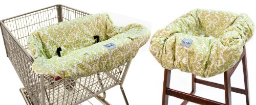 itzy-ritzy-shopping-cart-and-high-chair-cover-avocado-damask