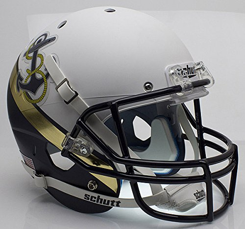 Schutt Navy Midshipmen Full XP Replica Football Helmet - NCAA Licensed - Navy Midshipmen Collectibles