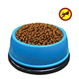 Kanimal No Ants Pet Bowl – Insect-Free Food Feeder Cats Dogs, Durable Bowl Non-Skid Rubber Bottom – Large Blue Bowl Large Dogs 40oz Review