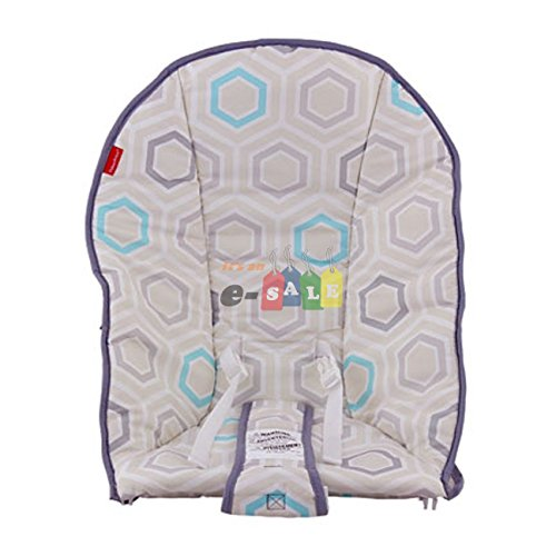 Fisher Price Replacement Bouncer Seat Pad (CHM55 COMFORT CURVE SATURN SNUGGLE PAD)