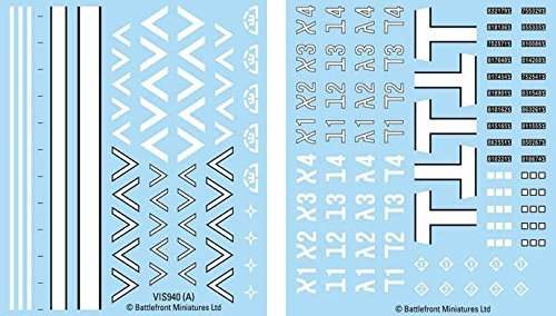 Flames Of War - Israeli Decals 4 x Decals Sheets - Ais941 - New