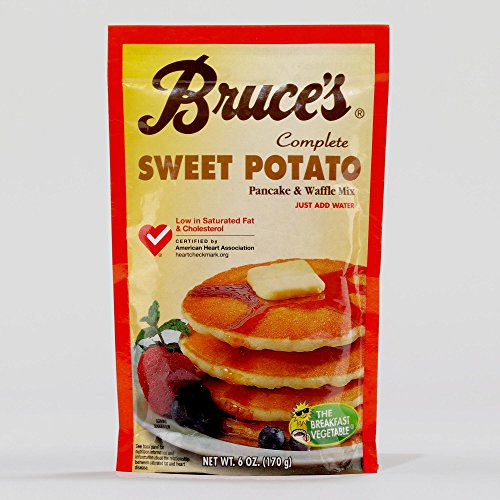 Bruce's Sweet Potato Pancake Mix, Set of 2(6 oz) by Bruce Foods