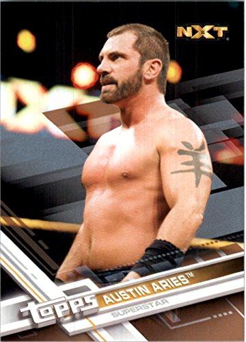 2017 Topps WWE Bronze #63 Austin Aries - - Burbank Aries