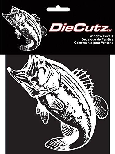 - CHROMA 003926 Die Cutz 'Bass Fish' Decal