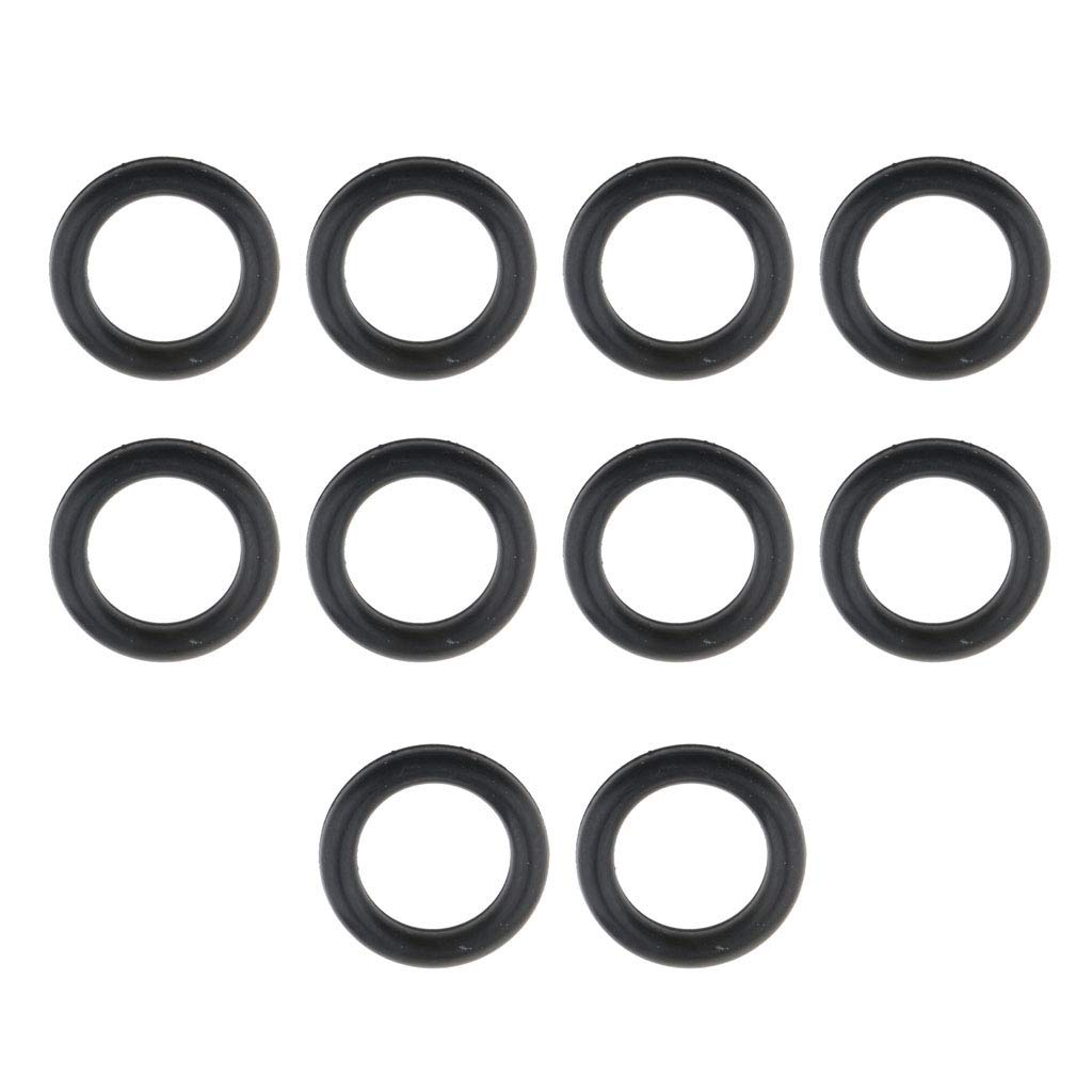 Baosity 10 Pack 8mm Replacement Silicone Rubber O Ring Seals for GoPro Hero Action Camera Diving Ball Head Accessory