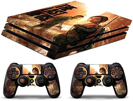 Skin PS4 PRO HD - THE LAST OF US - limited edition DECAL COVER ADHESIVO playstation 4 SLIM SONY BUNDLE: Amazon.es: Videojuegos