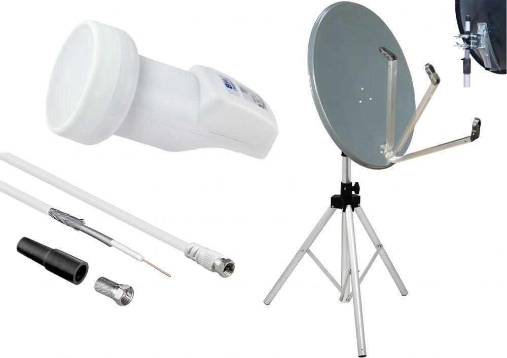 Camping set – Antena parabólica y 78 cm espejo – Pulsera LNB ...
