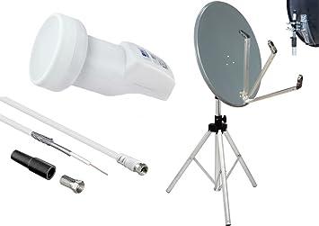Camping set – Antena parabólica y 78 cm espejo – Pulsera ...