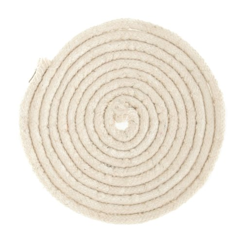 Wright Products WRIGHTS Cotton Piping Size 3, Cream/White