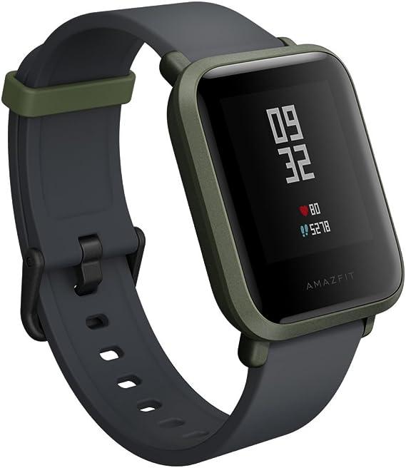 Amazon.com: Amazfit A1608G Bip Smartwatch (Kokoda green ...