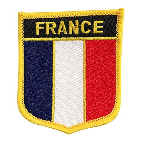 france flag emblem iron francais