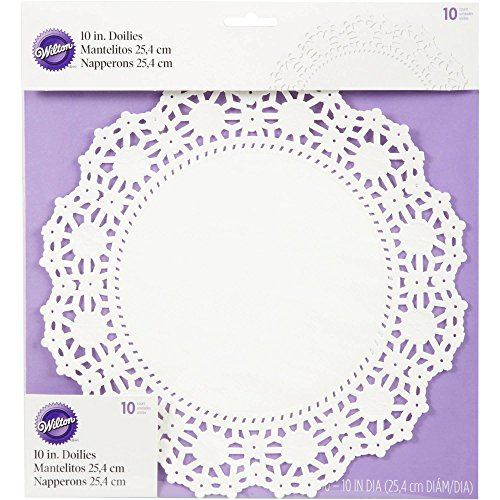 Wilton-2104-90210-10-Count-Grease-Proof-Doilies-10-Inch-White