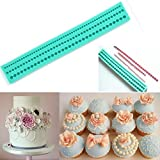 Joinor Silicone String Of Pearl Fondant Sugar Paste Bead Mold Clay Mould Cake Cookie Chocolate Decorating