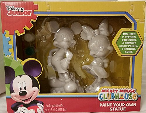 Disney Junior Mickey Mouse ClubHouse Paint Your Own Statues ()