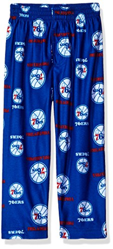 NBA Toddler 76Ers Sleepwear All Over Print Pant, 2T, Blue