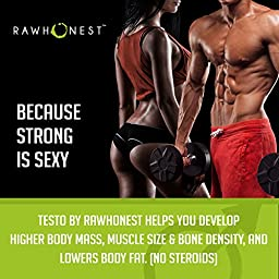 Natural Testosterone Booster Increases Energy, Libido & Burns Belly Fat A Gluten Free Vegan Male Enhancement With Ashwagandha, Horny Goat Weed, Tribulus Terrestris, Hawthorn - Boosts Metabolism
