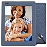 Nixplay Seed 8 Inch Digital Wi-Fi Photo Frame W08D (Blue) - Smart Frame with IPS Display, Motion Sensor and 10GB Online Storage, Display and Share Photos with Friends via Nixplay Mobile App